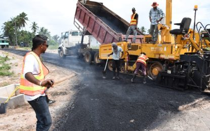 New roads being built in Mackenzie, Wismar –bridge to come on stream shortly