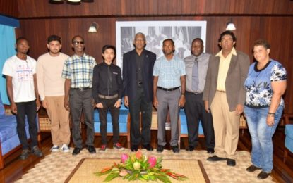 Guyana Chess Federation pays courtesy call on President Granger
