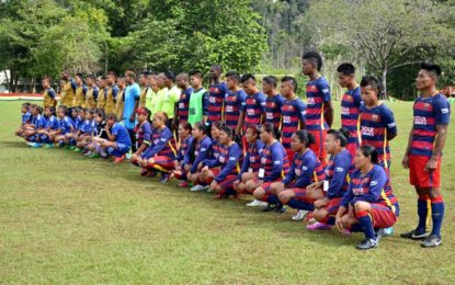 Upper Mazaruni games being played under floodlights  – President Granger attends opening ceremony