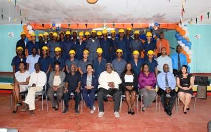 29 young men complete heavy-duty equipment training course