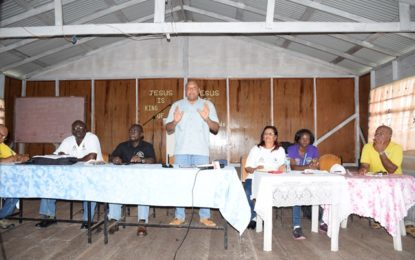 Minister Trotman promises new mining land to Imbaimadai residents