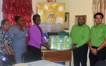 Education Ministry gets donation from Ansa McAl to help teenaged mothers