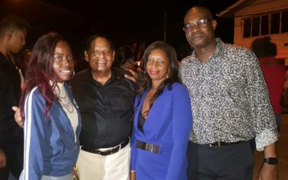 Prime Minister, Ministers participate in Hopetown soiree