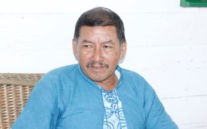 Minister Allicock pitches agriculture to Kamarang residents