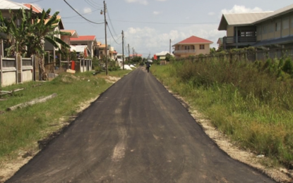 Grove Primary School access road rehabilitated