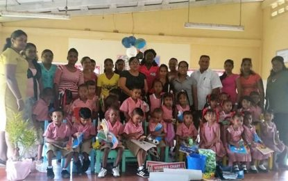 """Mrs Nagamootoo takes her """"Do Good"""" mission to Region 3"""