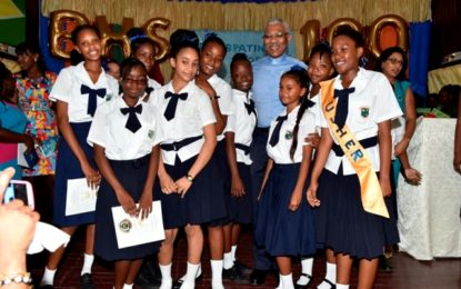 $1M pledged for Berbice High School's computer lab at centenary celebration  -President Granger plugs importance of innovation in education