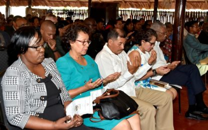 President, First Lady attend interfaith service as Guyana ushers in Heritage Month