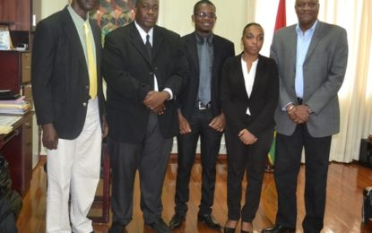 GLSC conducts legislative review to harmonise land management agencies  -report presented to Minister Harmon