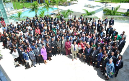 The first Commonwealth Magistrates and Judges Association conference in Guyana