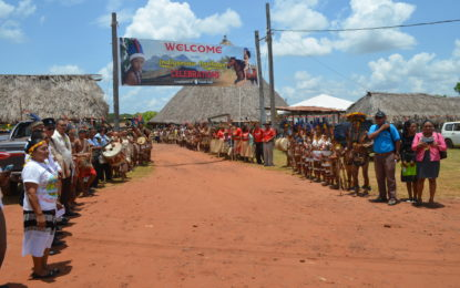 Indigenous Heritage Celebrations at St. Ignatius in Region 9