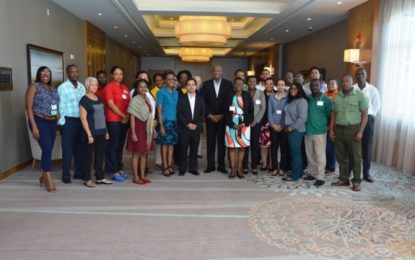 Private sector must play a more critical role in climate change mitigation – Minister Harmon at closing of NAMA training