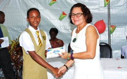 'Be all you can be but never forget where you came from'  -First Lady tells Benjamin's Bakery awardees