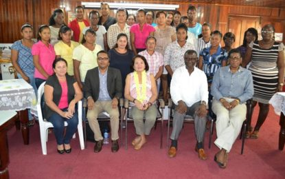 Educate a woman to educate a nation  – First Lady tells Essequibo Self Reliance workshop