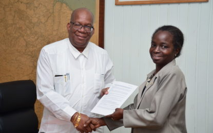 Government of Guyana signing of a Debenture Agreement with the National Insurance Scheme (NIS)