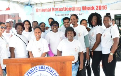 Public Health Ministry continues to champion exclusive breastfeeding