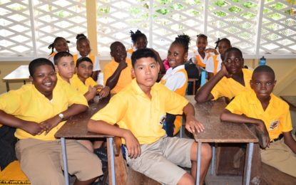 Brickdam Secondary students, teachers excited about new school
