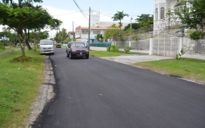 Citizens welcome Waterloo Street rehabilitation