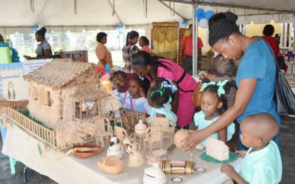 Creative learning methods showcased at 40th year of Nursery Education exhibition