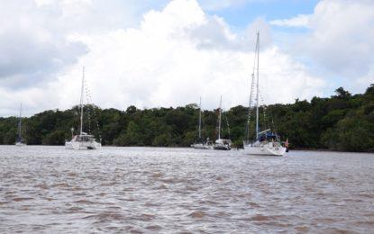 14 yachts in Guyana for Nereid's rally 2016