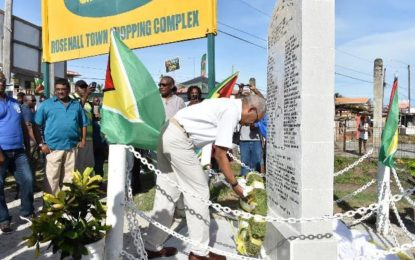 Rose Hall Town can lead a commercial revolution in the Region  – President says at opening of 'town week'
