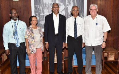 President Granger accepts role as patron of St. John's Association of Guyana
