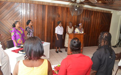 Presbyterian Church of Guyana, Women's Convention