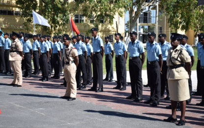 Guyana Police Force new recruits passing out ceremony