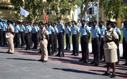 New police recruits urged to keep justice at forefront
