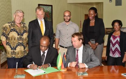 US$5M agreement signed with Germany for Phase III of protected areas project