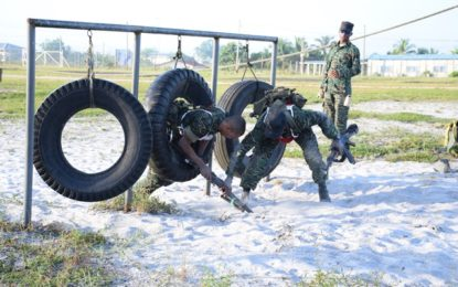 GDF officers complete senior command course