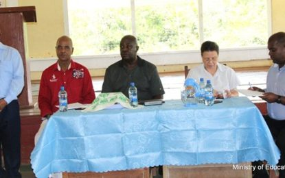 COI visits Region Seven – 16 schools participate in discussions