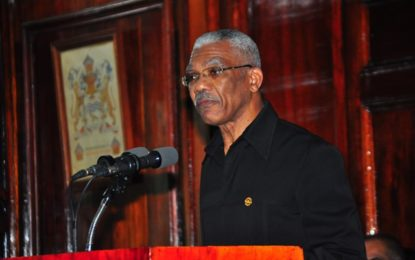 Insufficient evidence not equal to innocence – President Granger – on Carvil Duncan issue