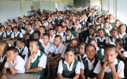 Upper Mazaruni residents engaged on community responsibility to protect children