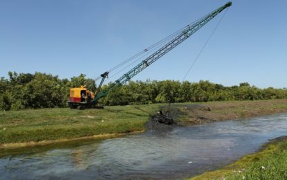 $100M drainage works for West Bank Demerara