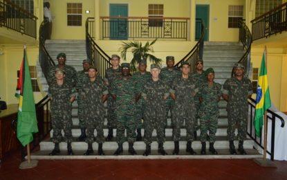 XX Guyana/Brazil Military Intelligence Exchange is under way in Georgetown