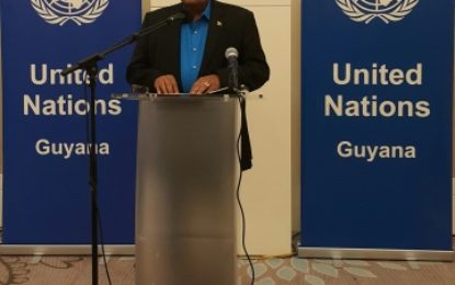 Remarks by Hon Moses V. Nagamootoo, Prime Minister and First Vice-President of the Cooperative Republic of Guyana at the 71st Anniversary of the founding of the United Nations