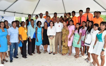 """President, First Lady commission Sunrise Centre in Essequibo – """"The symbolic dawn of a new day"""" for the county – First Lady"""