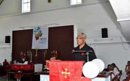 President Granger congratulates Lutheran Church on work in Guyana – at observance of quincentenary of Lutheranism