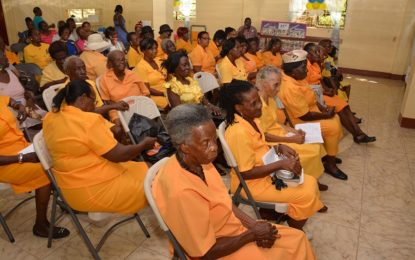 First Lady joins SANRIC Senior Citizens Club 22nd Anniversary celebrations