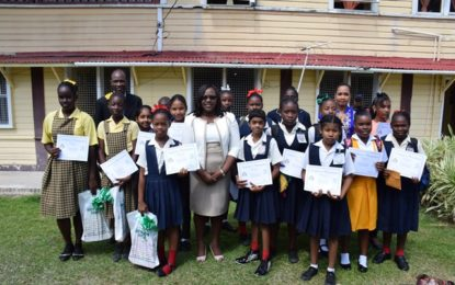 ECD schools participate in Leprosy awareness campaign