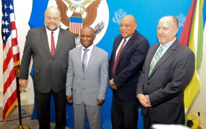 US gives support for Guyana to pursue transparency in extractive sector