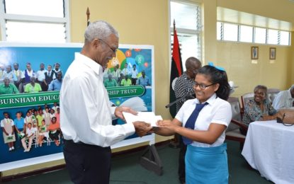 President underscores importance of education at BEST bursary awards ceremony