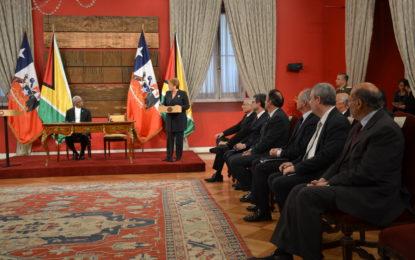 H.E. President David Granger's State visit to Chile