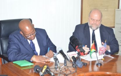 Guyana and US sign FATCA agreement