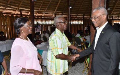 President promises better services, life for elderly a priority for Government  -at observance of International Day for Older Persons