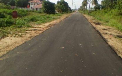 Leguan gets asphalt roads for first time