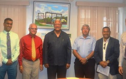 Agriculture Minister meets with investors to discuss possible projects for Skeldon