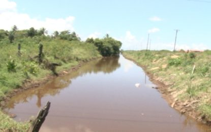 Drainage works in Barnwell-Mocha see return of farming