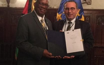 Guyana receive over 24 Million Euros from the European Union under the Accompanying Measures Programme for sugar